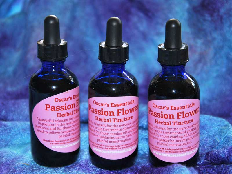 Oscar's Passion Flower Herbal Tincture