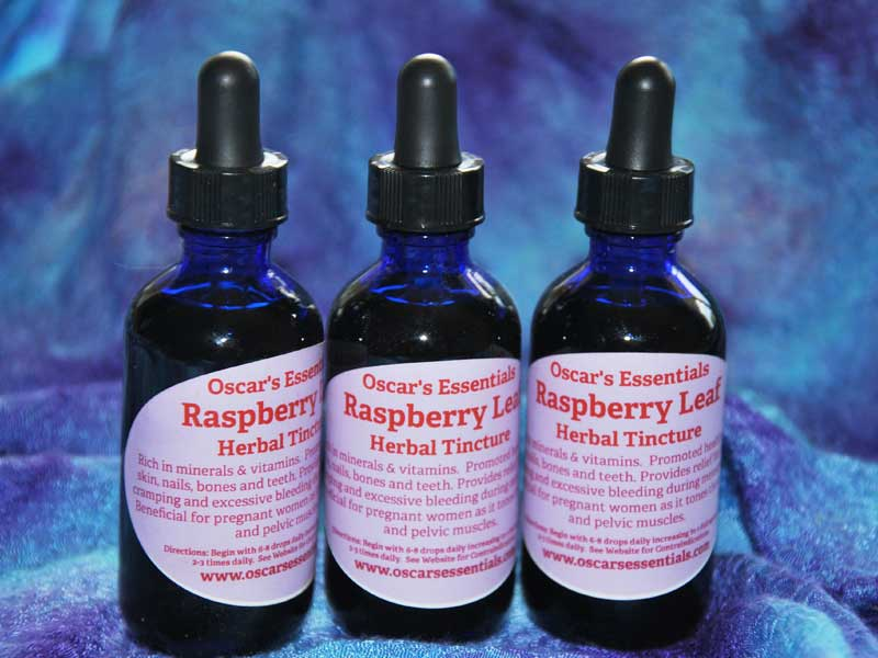 Raspberry Leaf Herbal Tincture