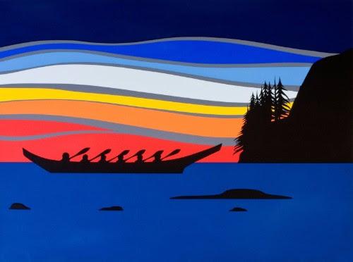 Roy Henry Vickers - Coastal Sunset