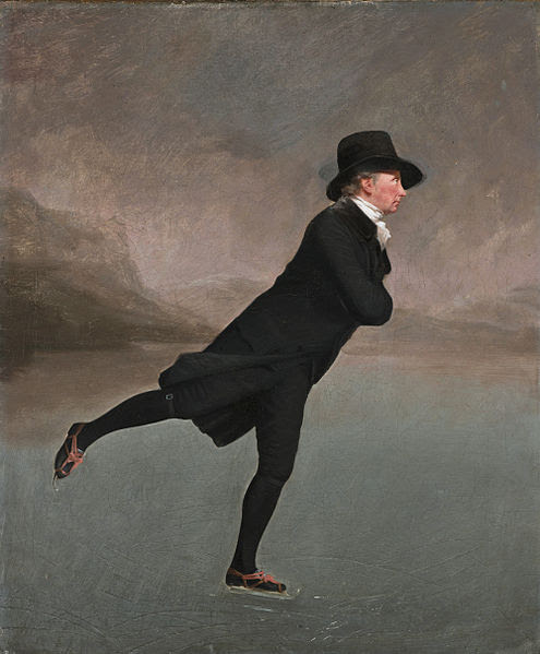 The Skating Minister - Henry Raeburn (approx 1790's)
