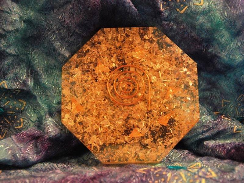 orgone plate octagon