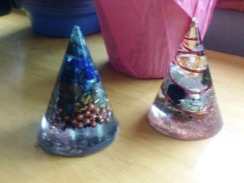 Orgone Cones