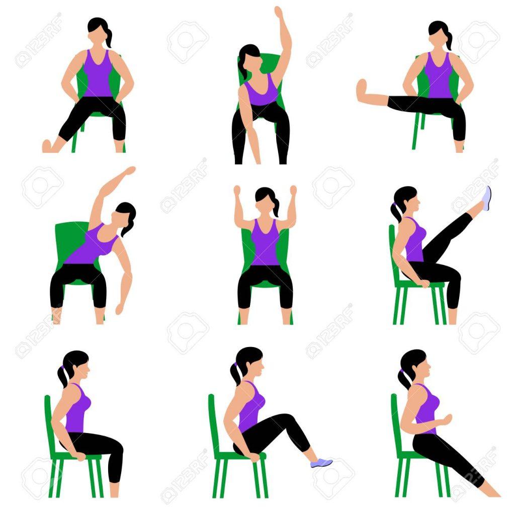 On-Line Chair Yoga - Wednesdays at 11:05 AM @ My Soulbalance