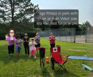Yoga Fitness in the Park @ Willard Park